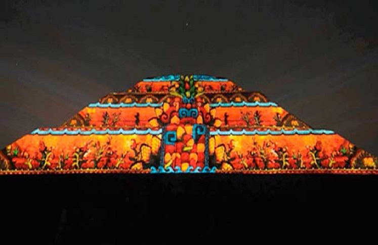 Show multimedia teotihuac n ciudad viva for Espectaculo de luces teotihuacan 2018