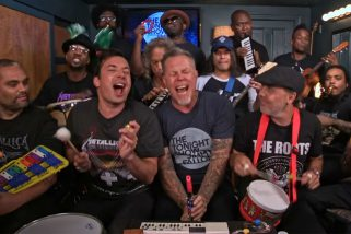 Metallica como nunca lo habías visto