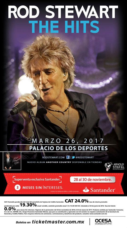 Concierto de Rob Stewart en México