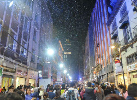 Madero se llena de nieve
