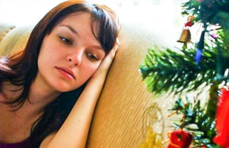 Durante el invierno es muy común que las personas entren en depresión.