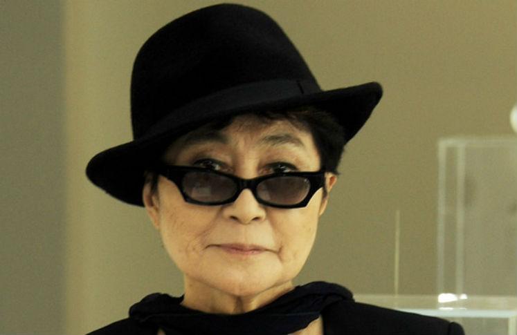 Envia tus ojos a Yoko Ono