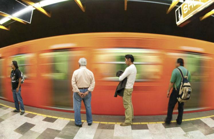 Trayectos largos en transporte público