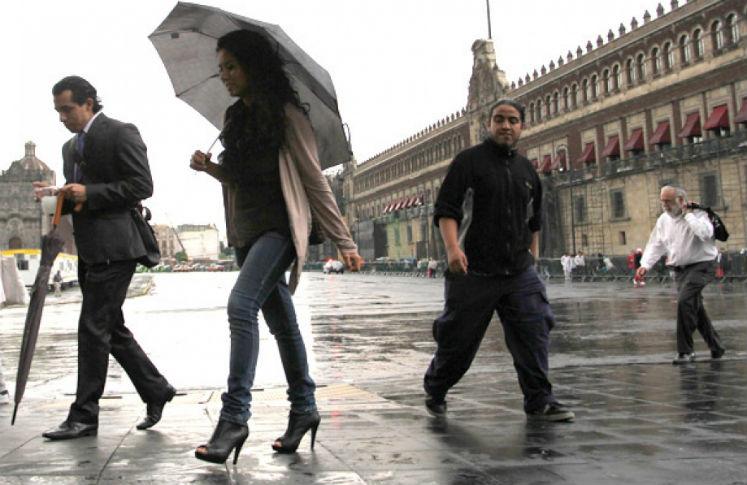 Guía para sobrevivir a la lluvia en la Ciudad de México