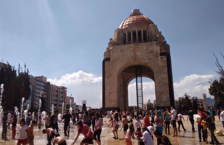 Incrementan temperaturas en el df