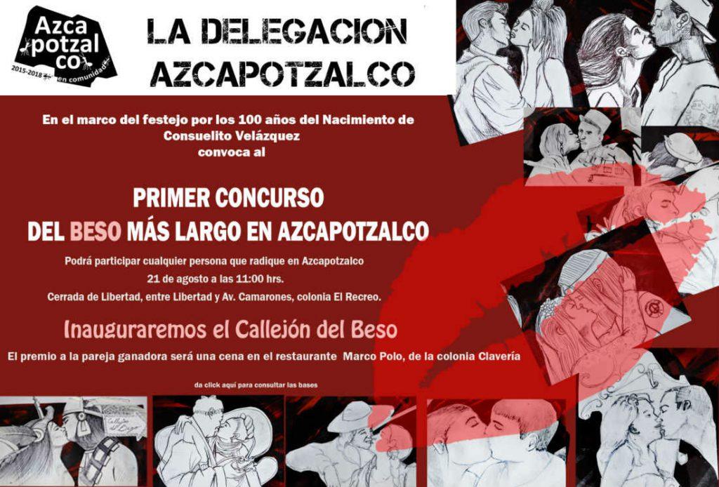 Primer Concurso del beso más largo de Azcapotzalco
