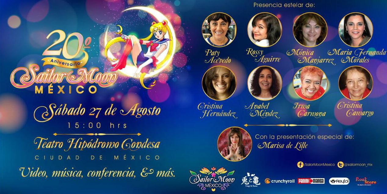 Festival de 20 años de Sailor Moon