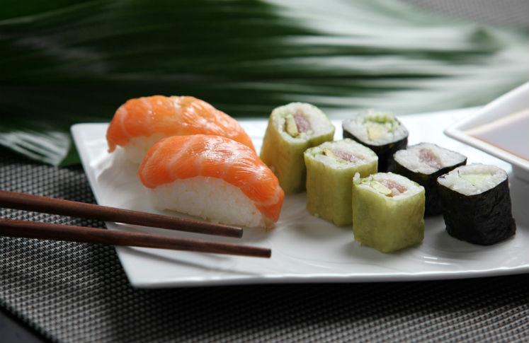 Lugares de sushi en el df