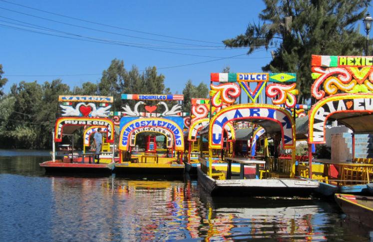 Festival en Xochimilco