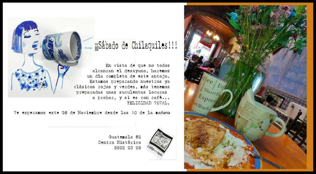 Chilaquiles en la CDMX