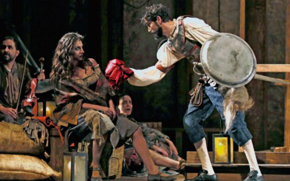 Benny Ibarra y el Quijote