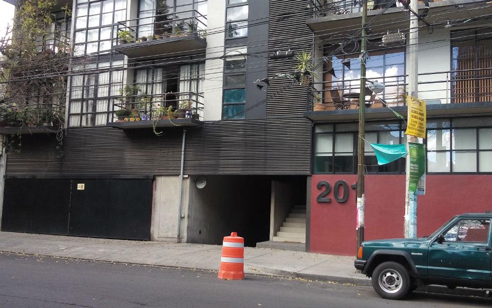 Edificios sin estacionamiento en la Ciudad de México