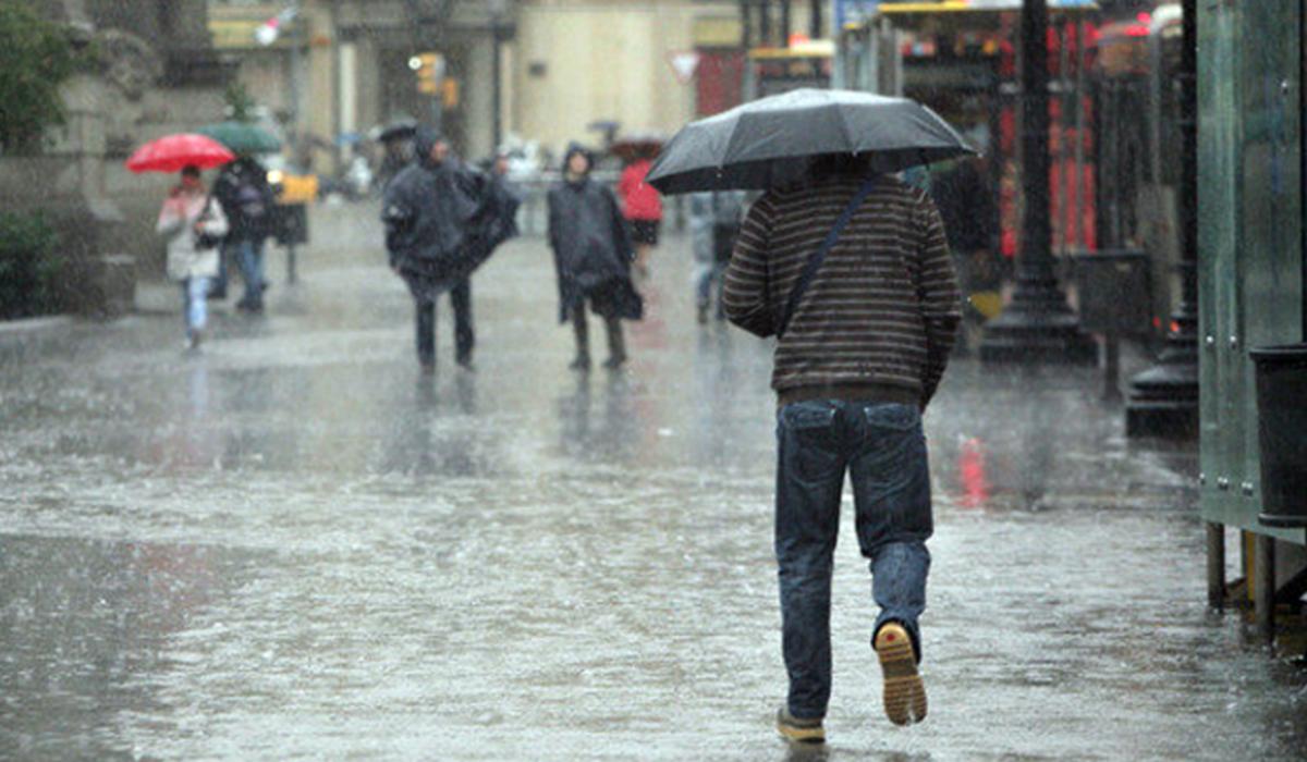 Cómo evitar mojarse durante las lluvias