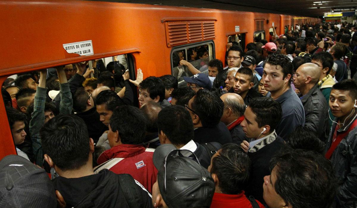 lluvias metro Ciudad de México