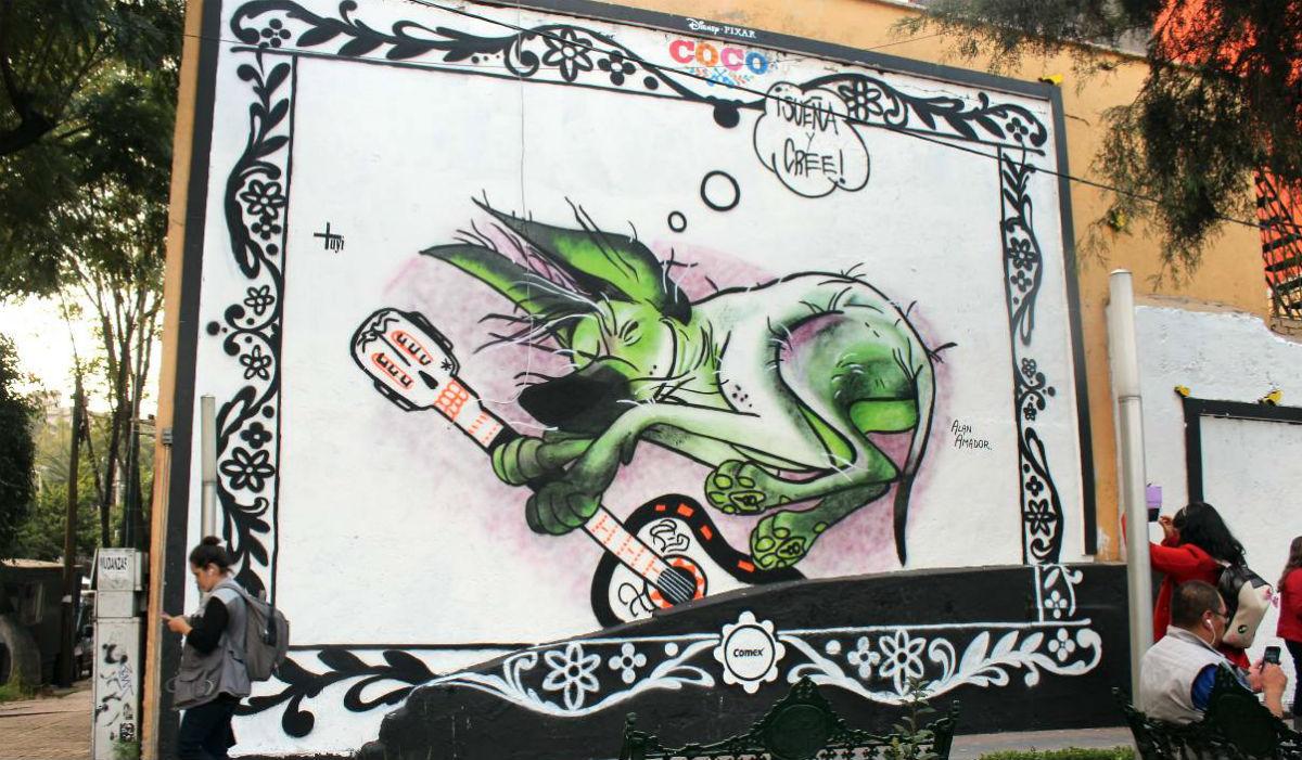 Murales de COCO en la CDMX