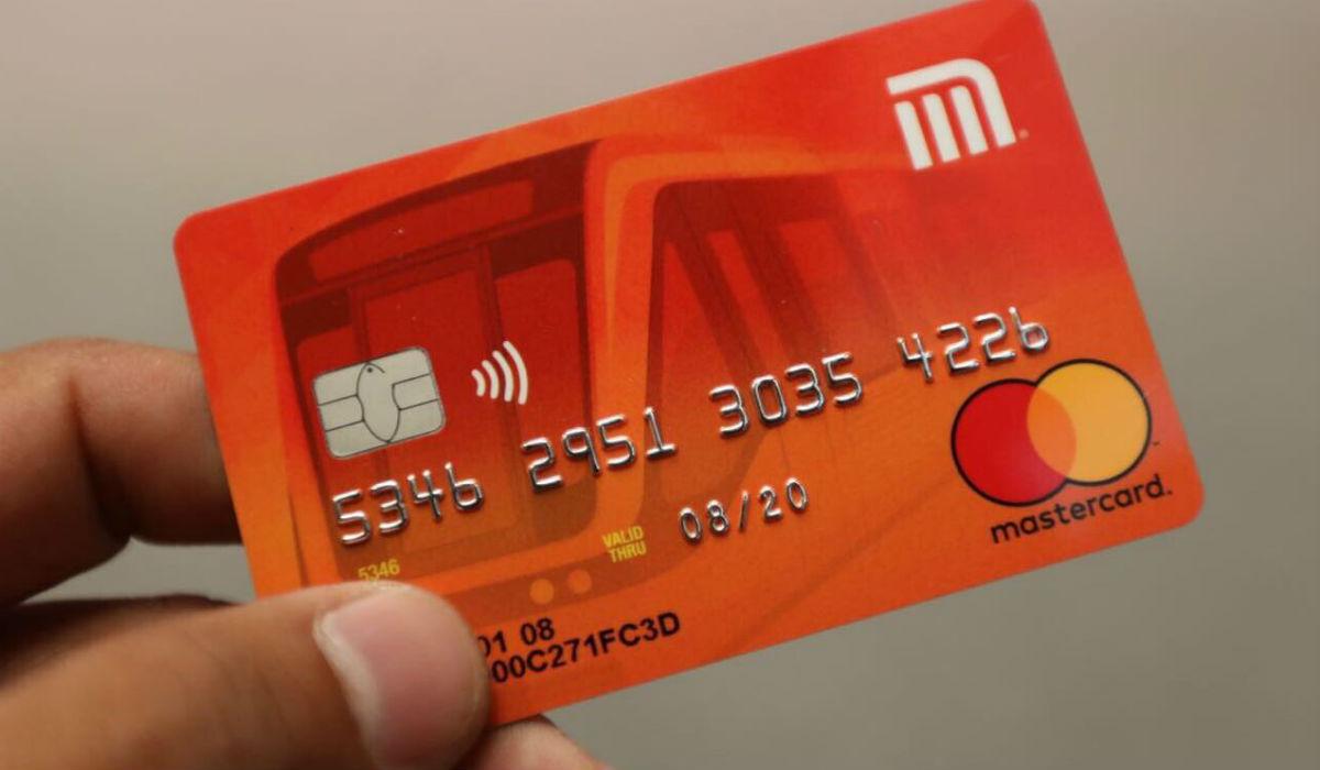 Nueva tarjeta del metro CDMX