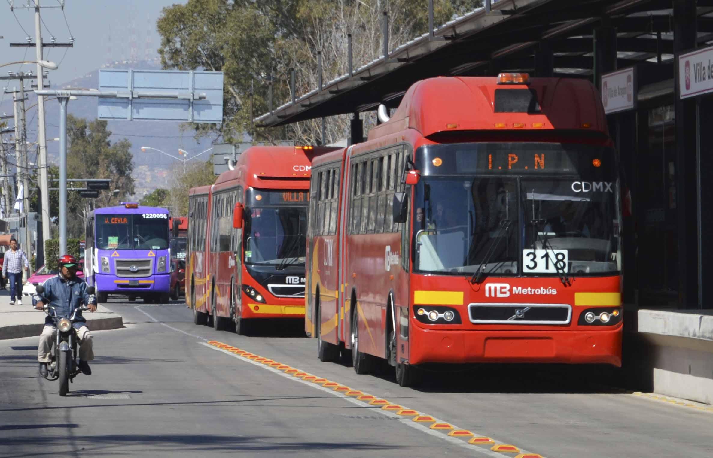 Metrobus gratuito para fin de año