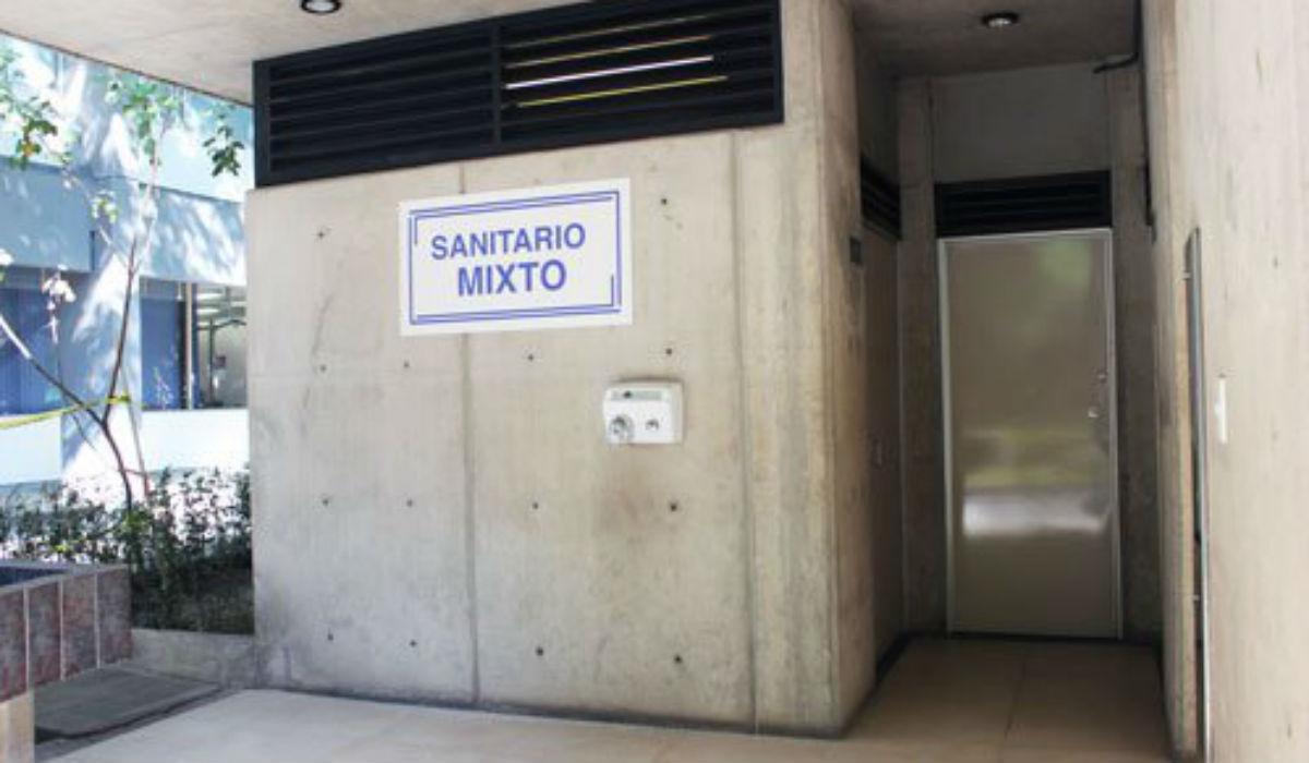 Baño incluyente, UNAM