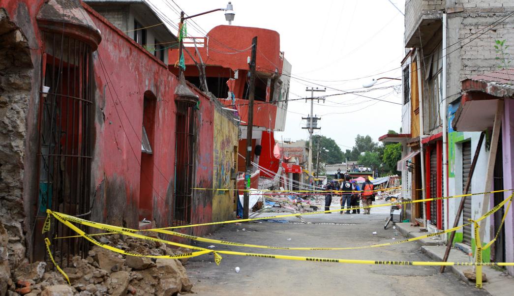 Damnificados de Xochimilco, sismo Ciudad de México