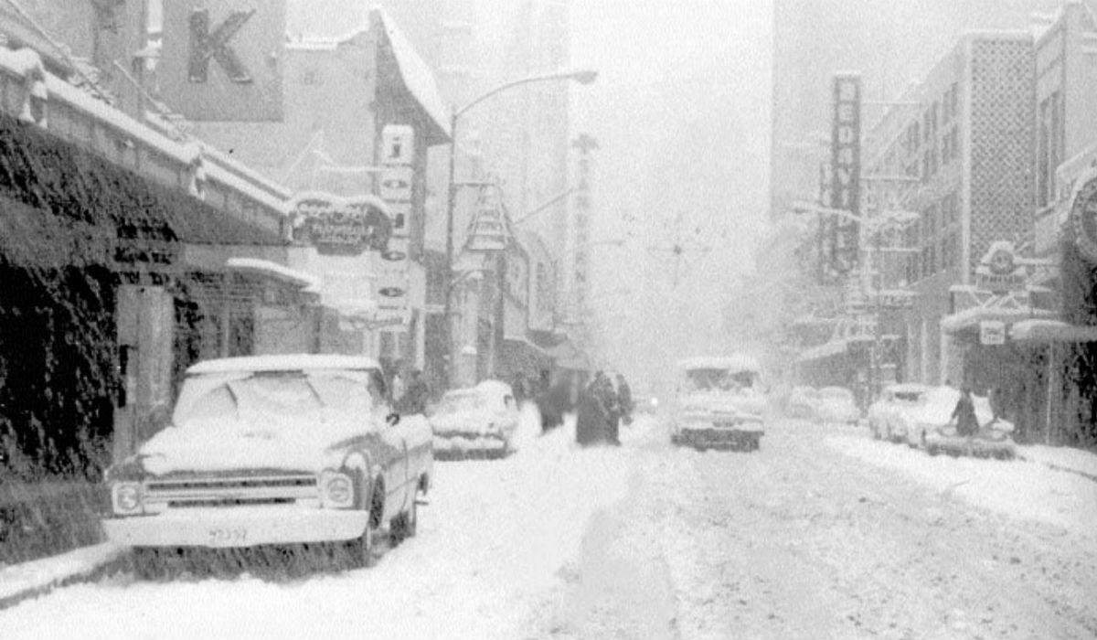 Puede caer nieve en la Ciudad de México