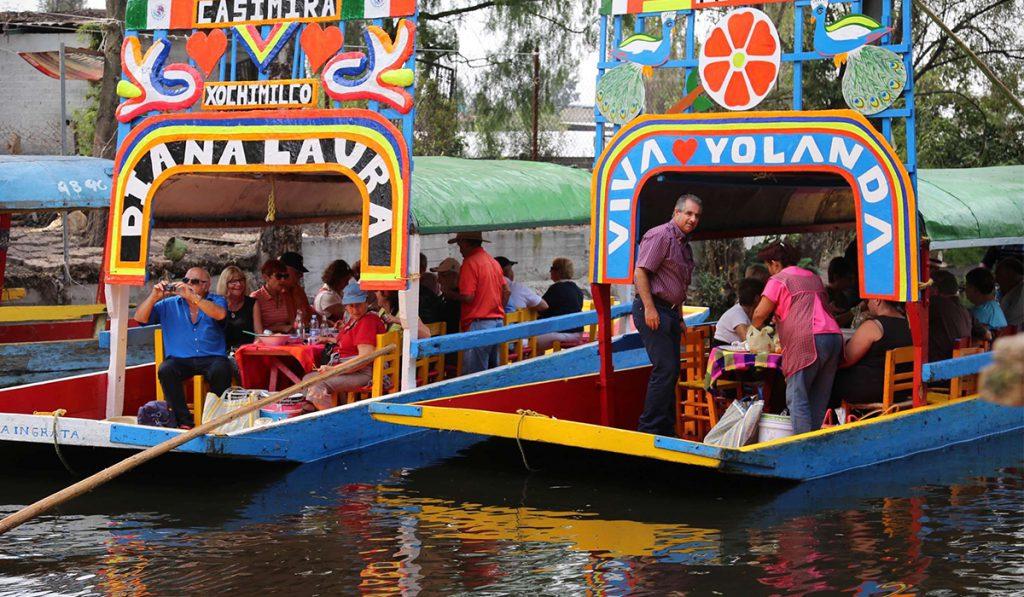 Trajinaras de Xochimilco