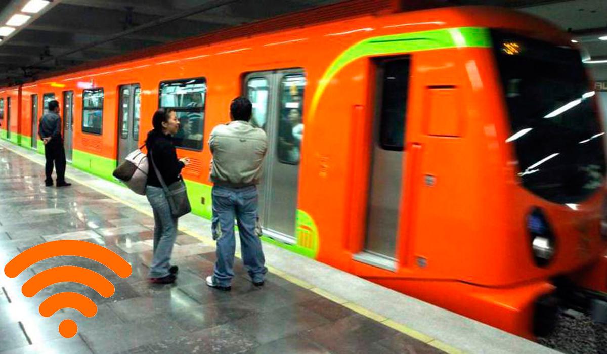 Wifi gratis metro CDMX