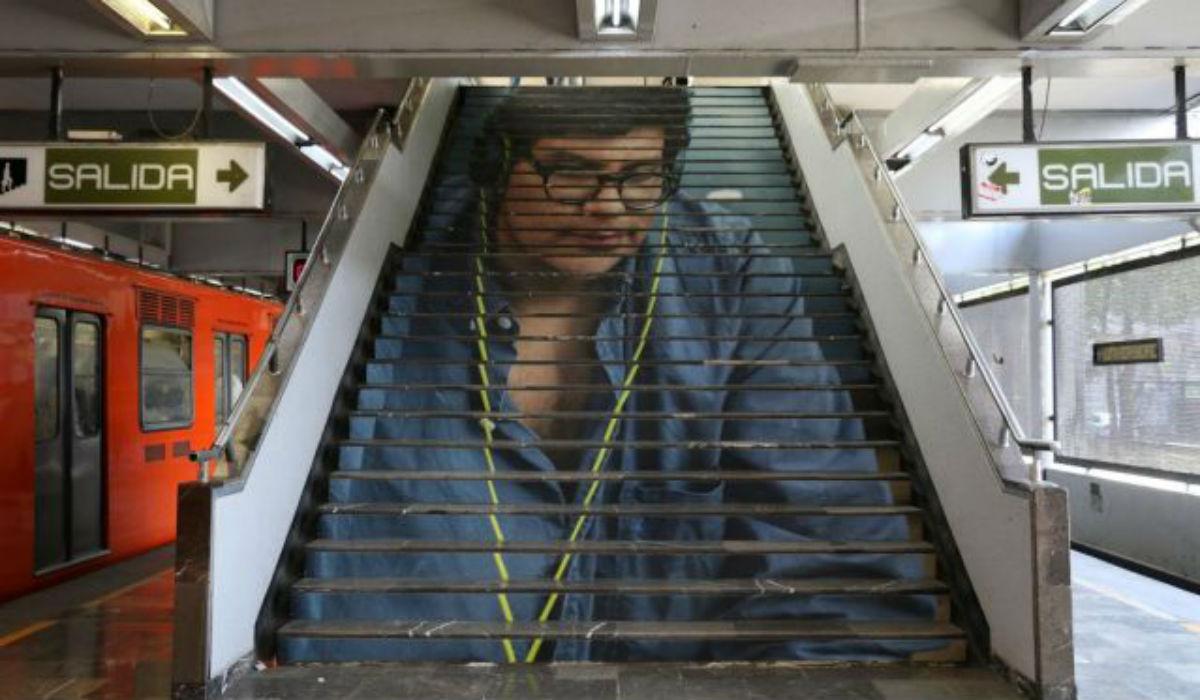 Historia de la UNAM en el metro