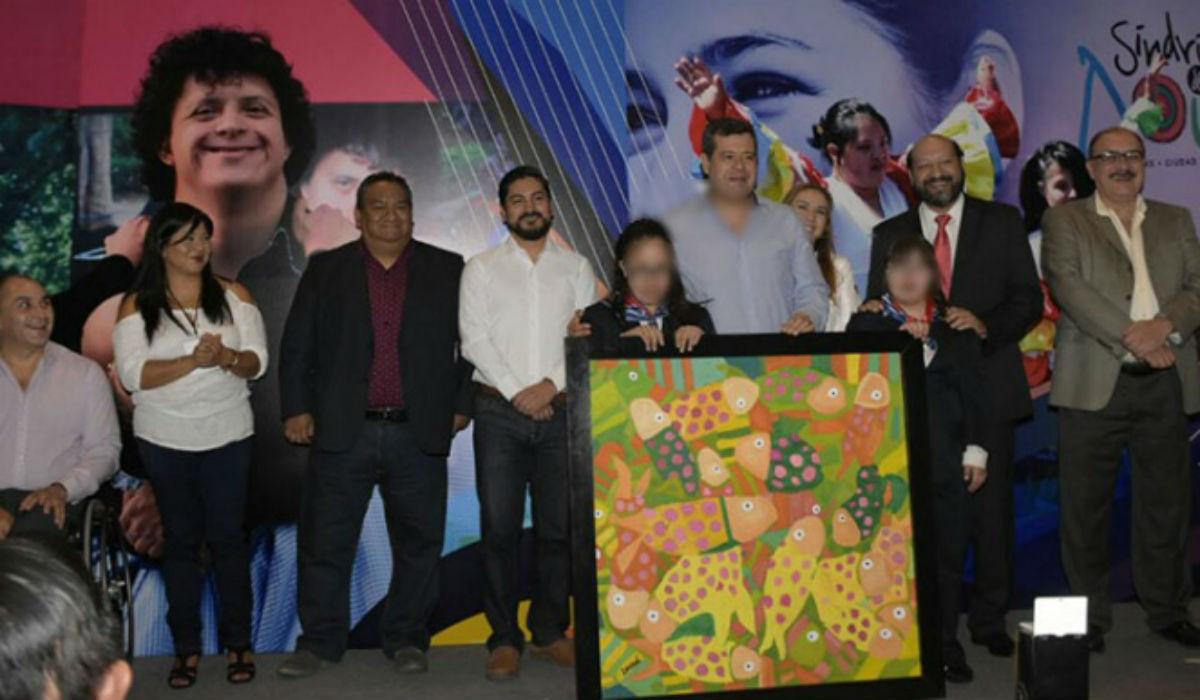 Inauguran fundación Arte Síndrome de Down, Narvarte