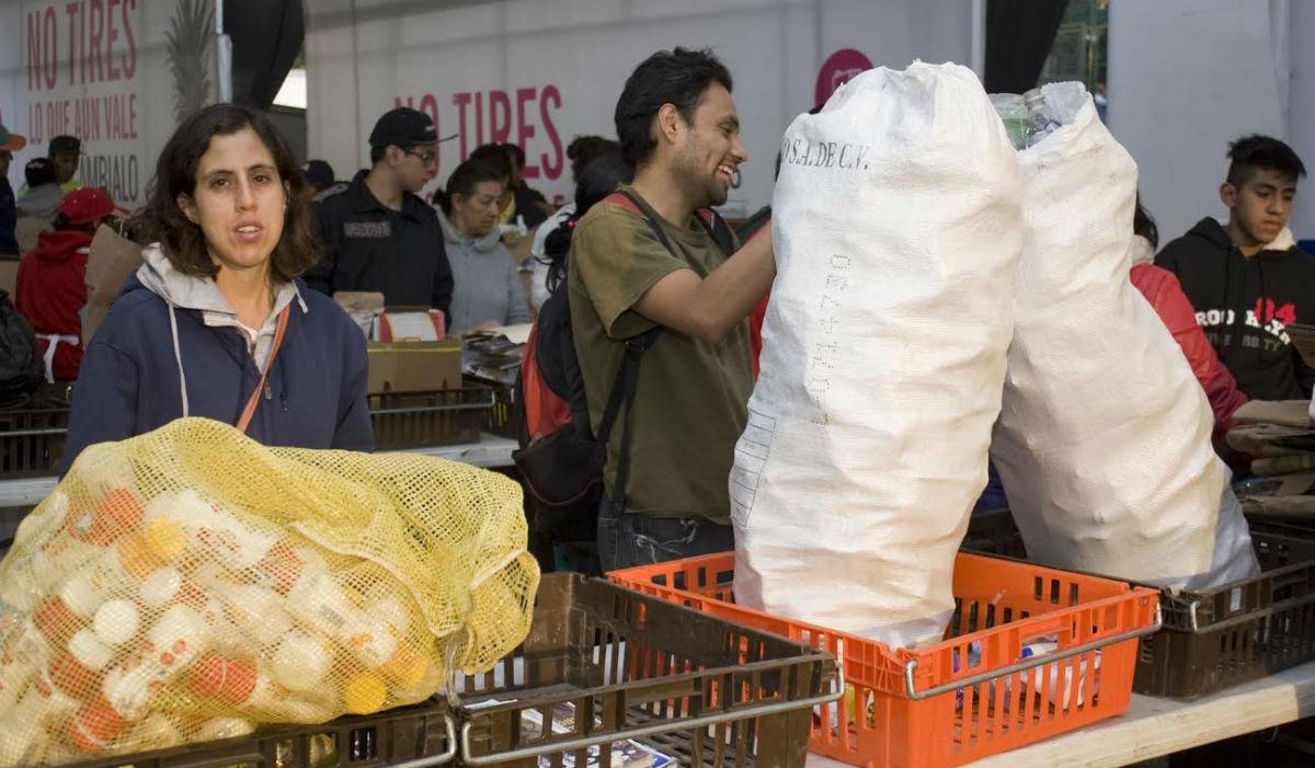 Mercado de Trueque en la Ciudad de México