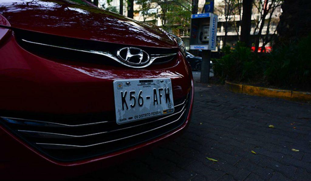 Multa para micas en placas de autos, cdmx