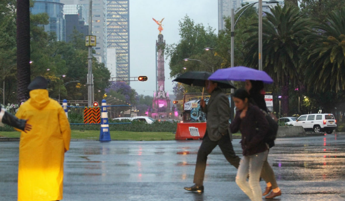 Fin de semana lluvioso cdmx
